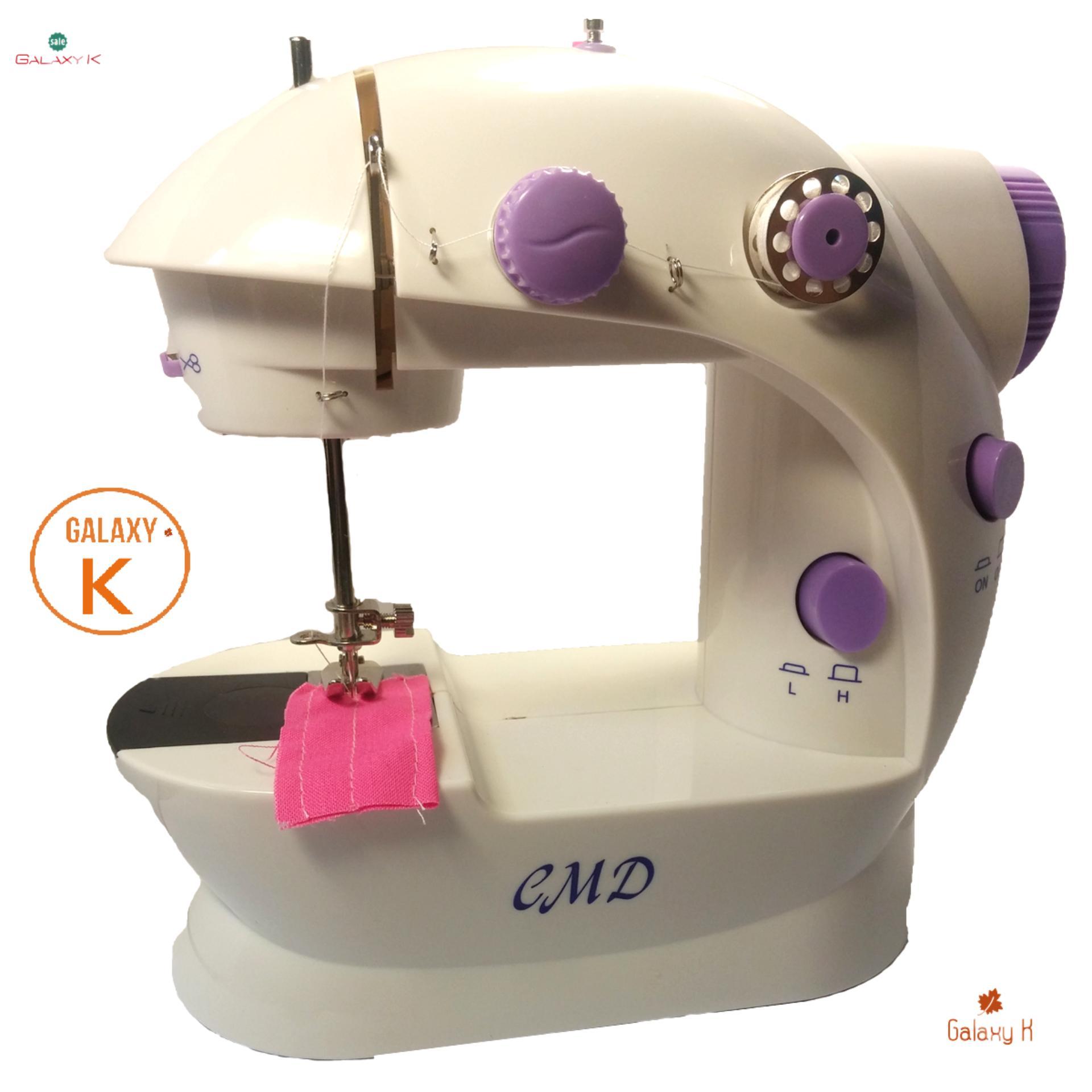 máy may bàn đạp - may may juki cua nhat - máy may mini GalaxyK tiện lợi dễ dùng dễ sử dụng phù hợp với người Việt Nam