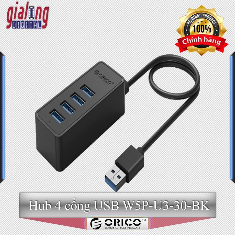 Bộ chia USB Hub 4 cổng USB 3.0 W5P-U3-30-BK - Hàng phân phối chính hãng