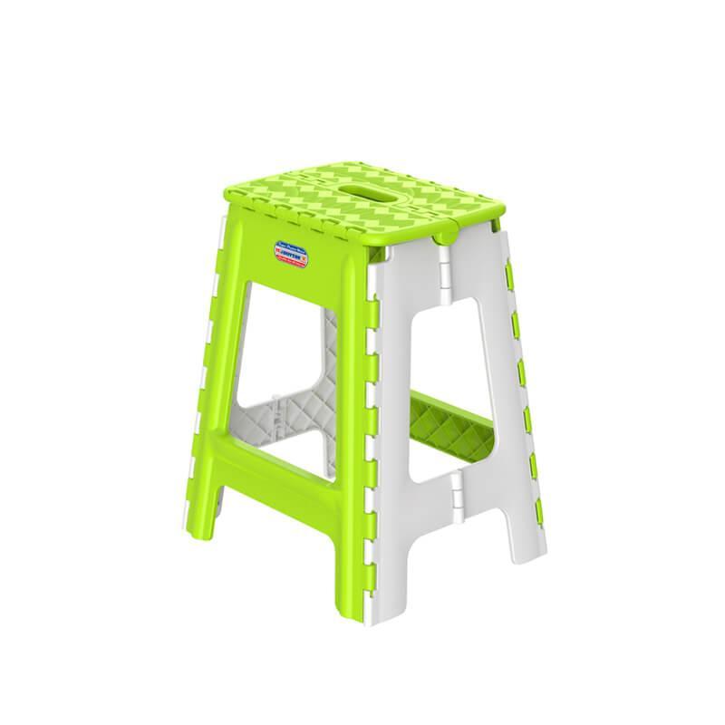 [HCM]LAZDEAL - Ghế nhựa cao xếp Duy Tân kích thước 33.7 x 29.2 x 42.4 cm (L) có tay cầm để xách mặt ghế rộng rãi dễ sử dụng