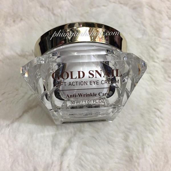 Kem nâng cơ - xóa nhăn vùng mắt GOLD SNAIL Lift action eye cream anti wrinkle 30ml