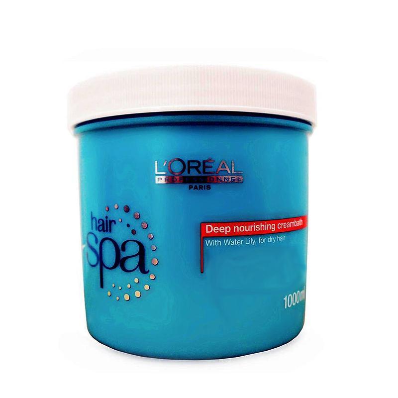 Hấp dầu suôn mượt Loreal Hair Spa Deep Nourishing Mark 1000ml cao cấp