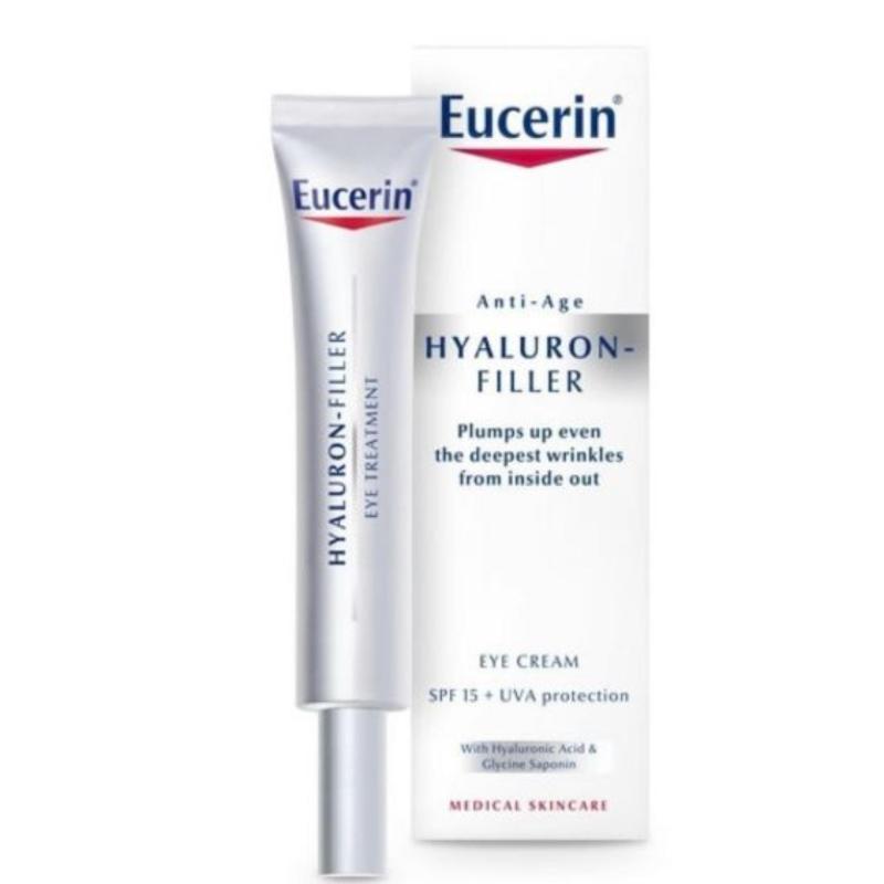 Kem dưỡng làm mờ vết nhăn vùng mắt Hyaluron Eyes - Eucerin 63536