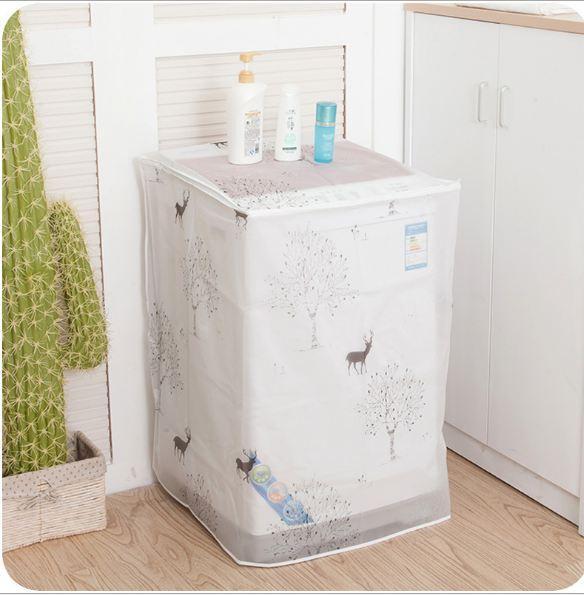 Hình ảnh Áo trùm máy giặt mẫu mới loại dày cao cấp - cửa trên - cửa trước