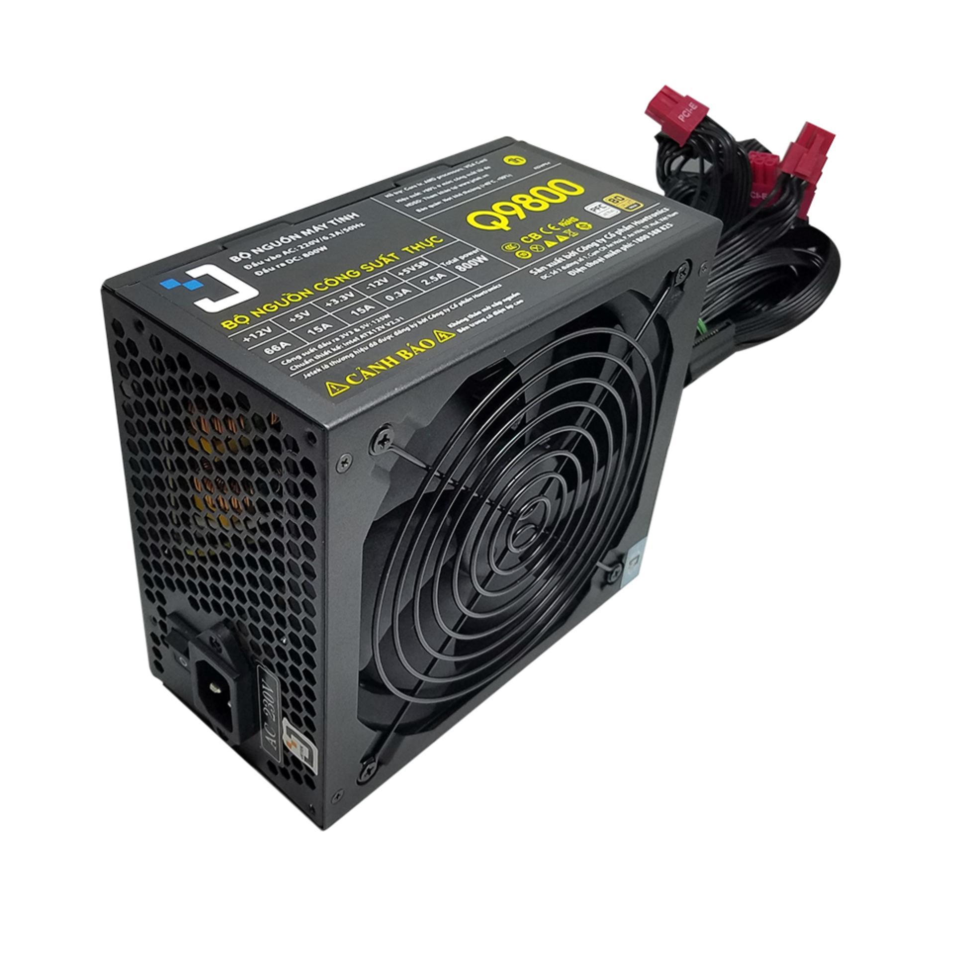 Nguồn Jetek Q9800 Gaming Bitcoin 80 Plus Gold Jetek Chiết Khấu 50