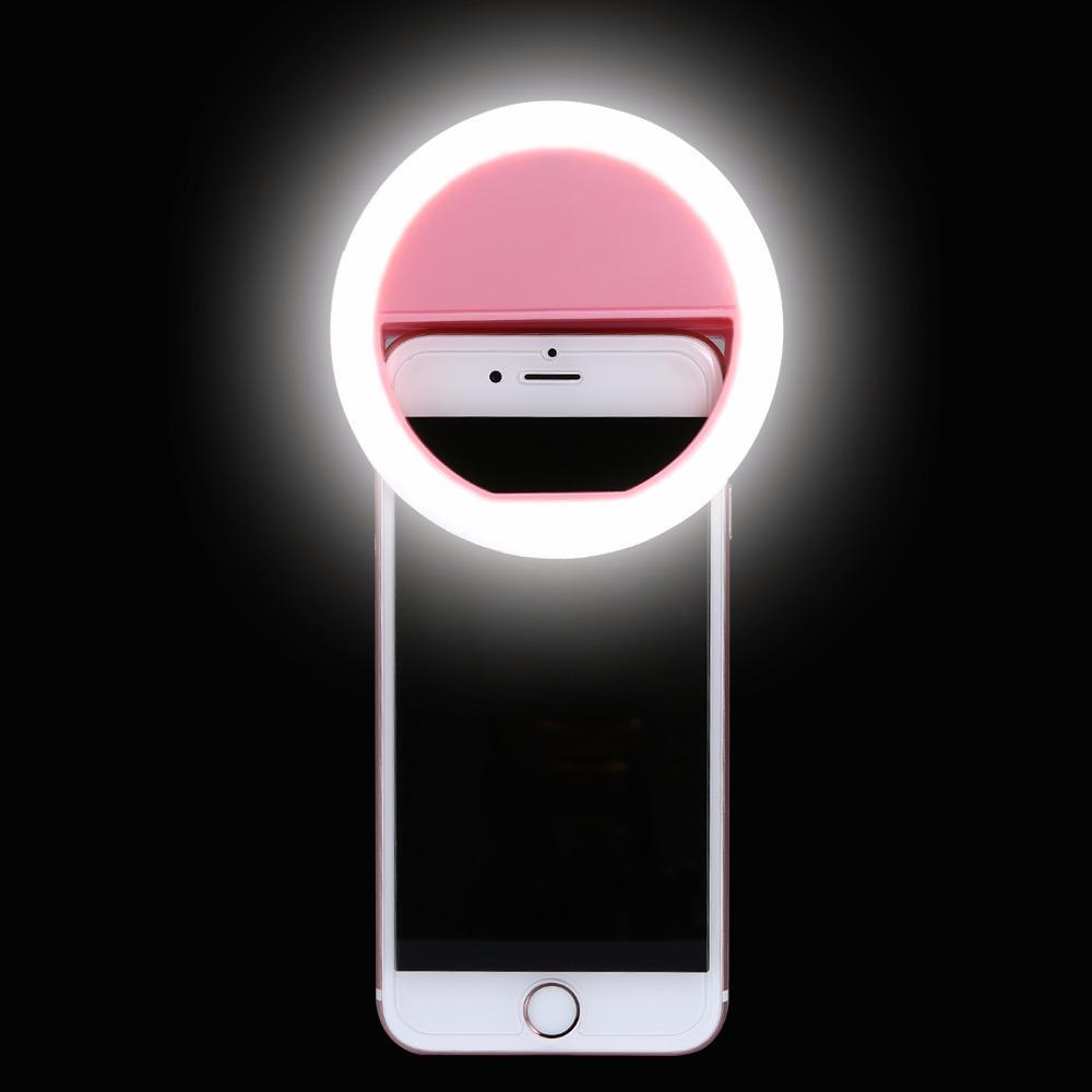 Hình ảnh Đèn selfie Ring light cho điện thoại tặng kèm dây sạc ( loại xịn ) + Tặng kèm thẻ tích điểm Giá tốt 360