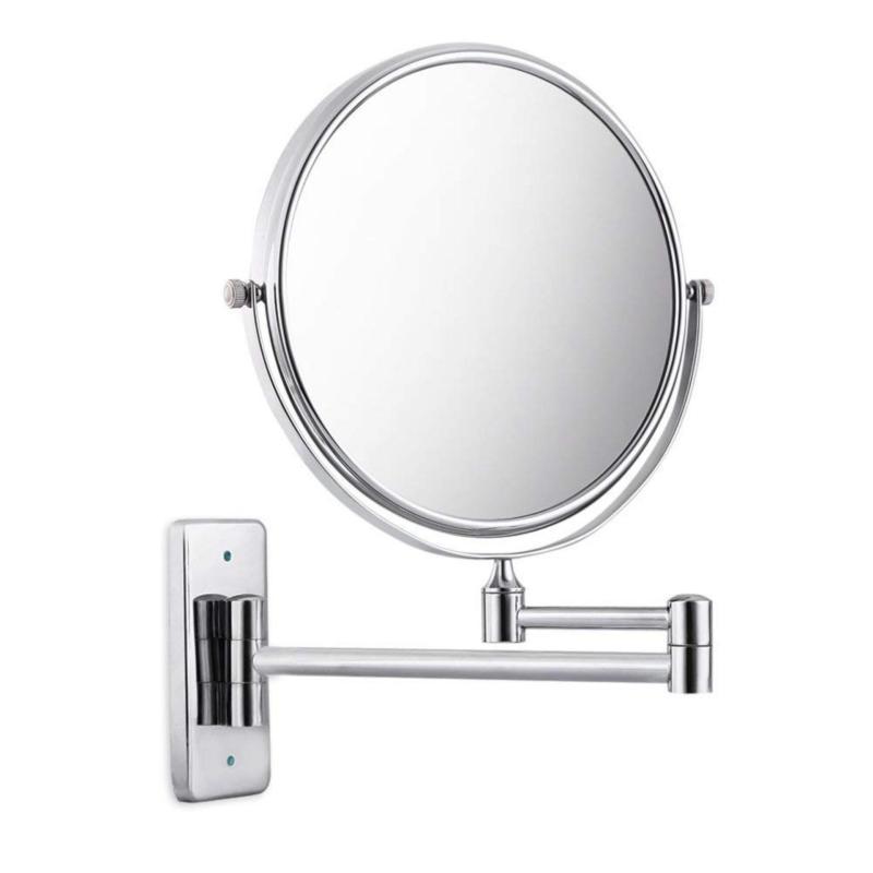 Gương trang điểm treo tường 2 mặt - Gương trang điểm phòng tắm, 2 mặt, phóng to, gắn tường