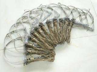 1 bộ Giò đá - cáp inox se 4 - ( giò búng ) bẫy gà rừng màu tàng hình cỏ khô 1 bộ 20 chân giá rẻ thumbnail
