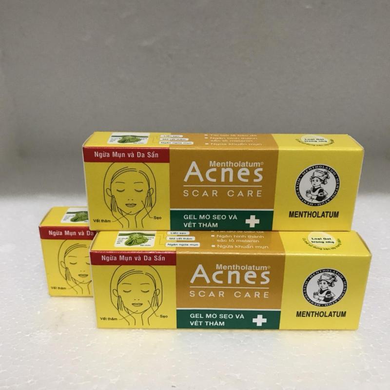 (Au) Combo 3 tuýp Gel mờ sẹo và vết thâm acnes
