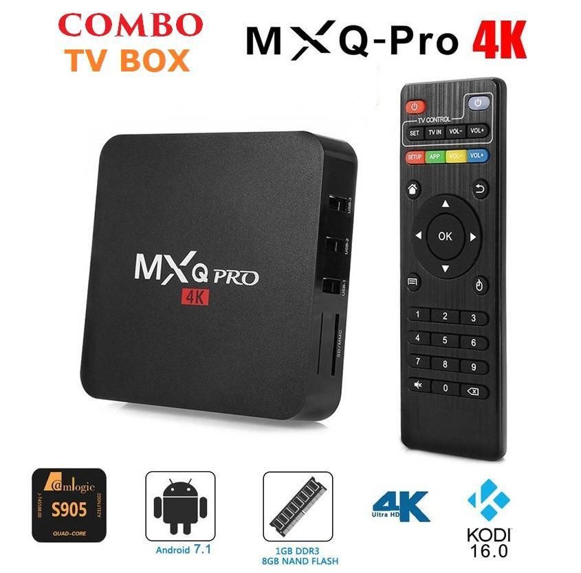 Hình ảnh Tivi Box MXQ-4K Pro Với Android 7.1.2 Siêu Mạnh SIêu Nhanh Phiên bản 2018