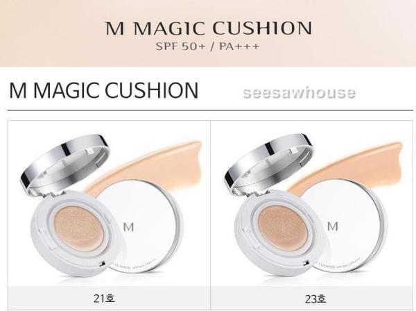 Phấn nước kiềm dầu, che phủ tốt Missha M Magic Cushion Cover SPF50+
