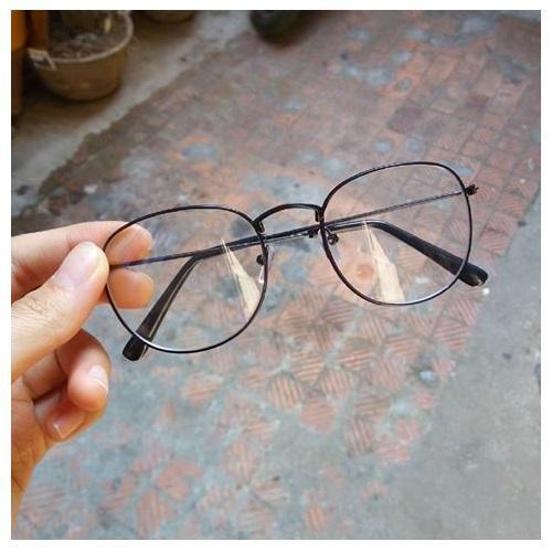 Hình ảnh Mắt kính Ngố Nobita Không độ thời trang (Đen)