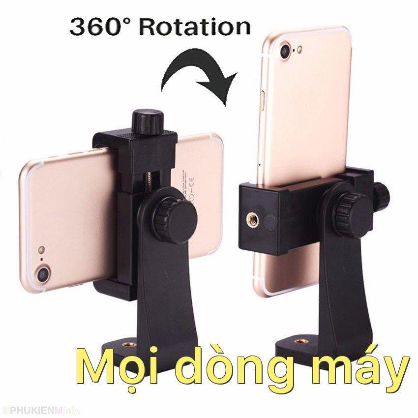 Hình ảnh Khung kẹp đỡ điện thoại xoay 360 độ cho tripod