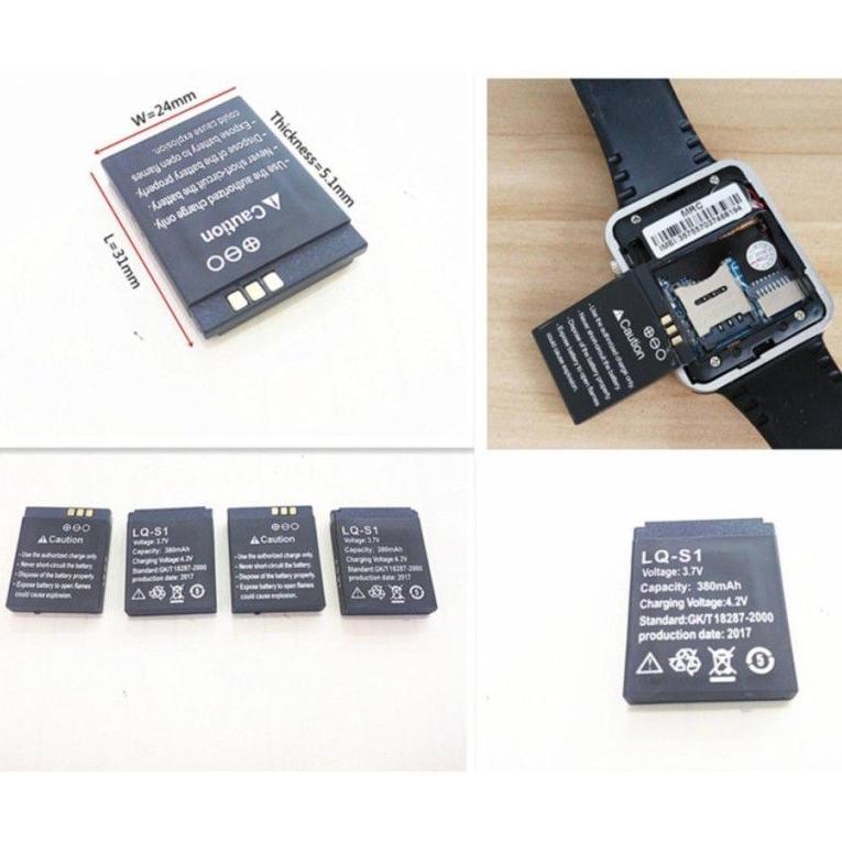 Hình ảnh Pin đồng hồ thông minh