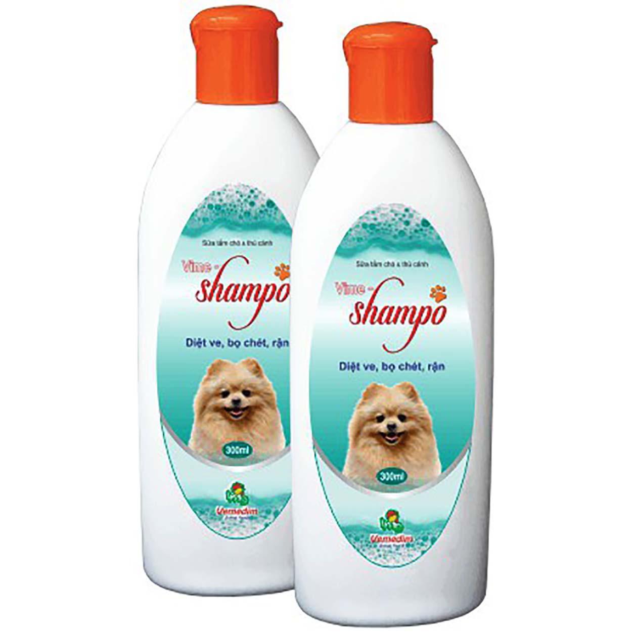 Sữa Tắm Thơm, Diệt Bọ Chét, Mềm Lông An Toàn Hiệu Quả Cho Chó Mèo - Vime Shampo Nhật Bản