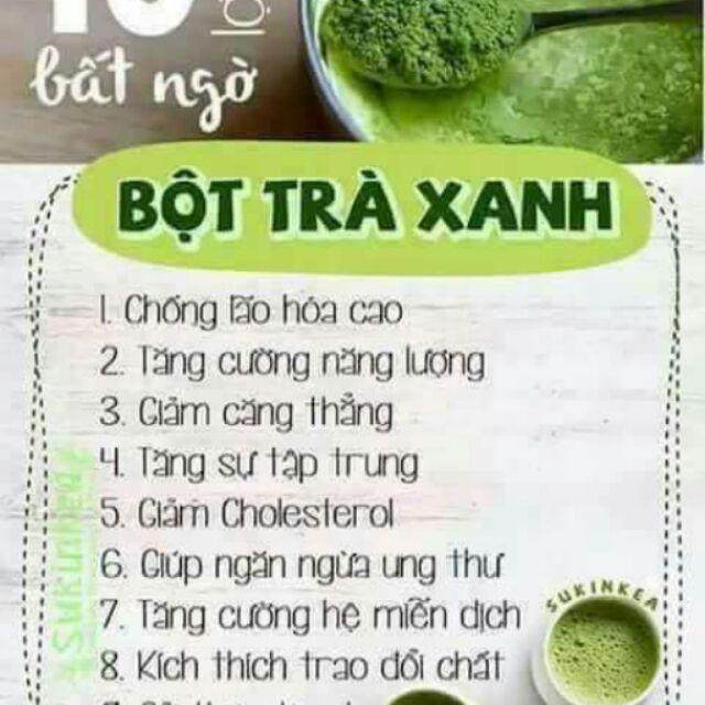 0.5kg bột trà xanh nguyên chất tốt nhất