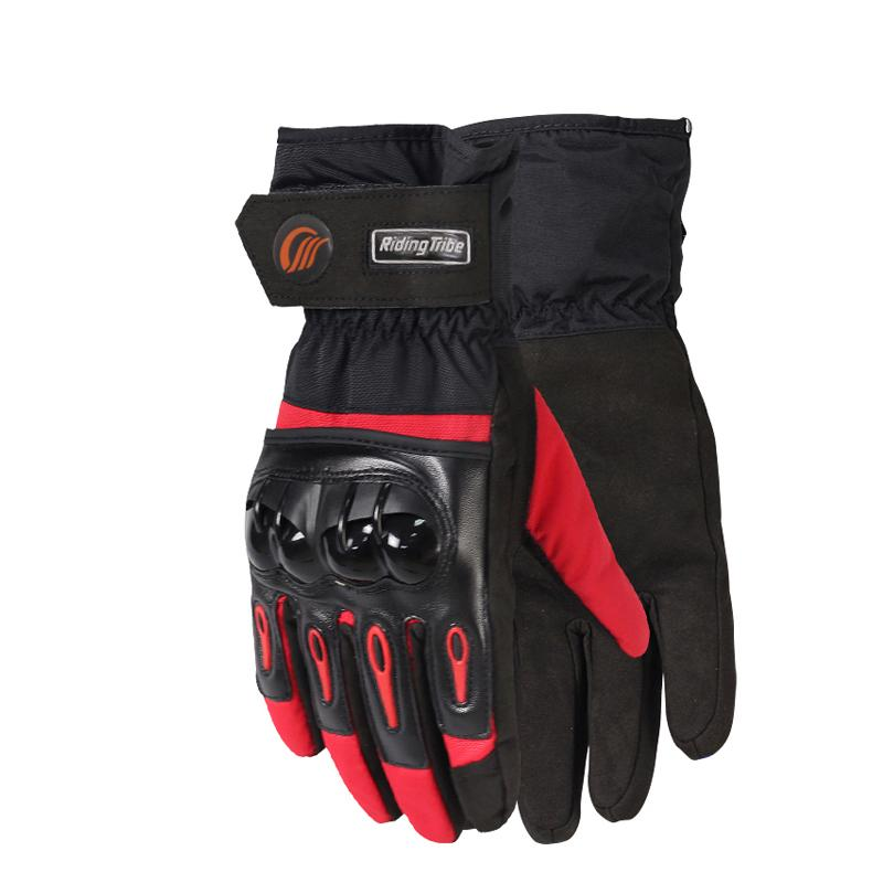 YANYI Winter Riding Tribe Motorcycle Protective Gloves Waterproof Warm Hands Protection Gloves