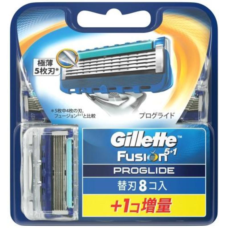 Vỉ 9 Lưỡi Dao Cạo Râu Gillette Fusion Proglide 5+1