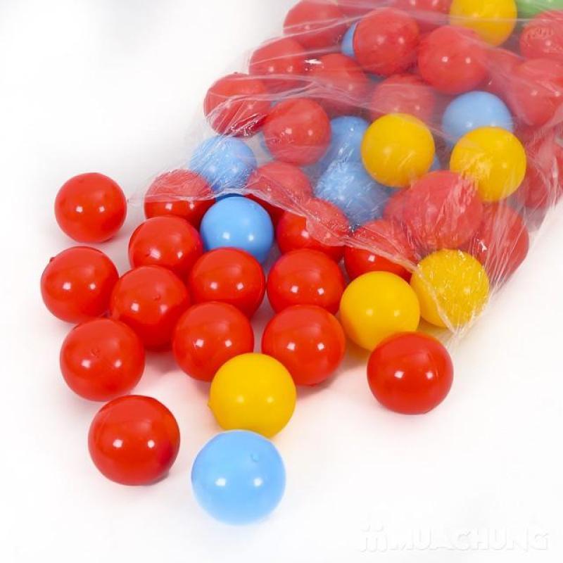 100 quả bóng nhựa chơi cho bé