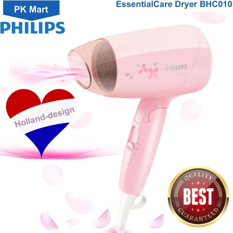 Máy sấy tóc  Philips BHC010 (Hồng) - Hàng nhập khẩu