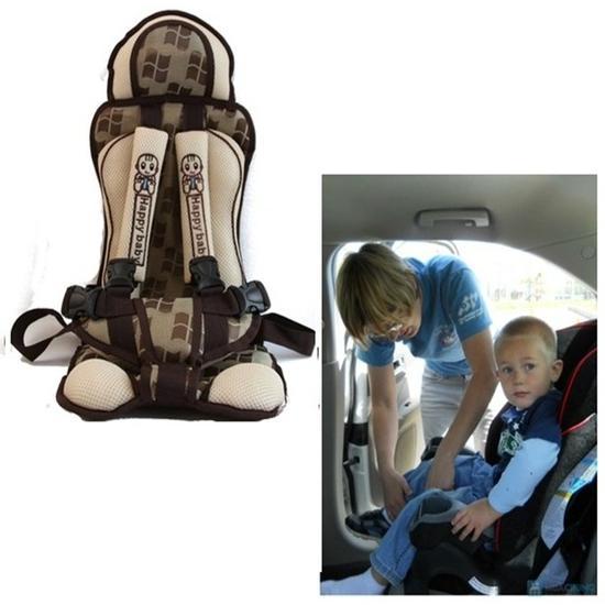 Hình ảnh Ghế ngồi đa năng cho bé trên xe ô tô 1-6 tuổi -HAPPY BABY