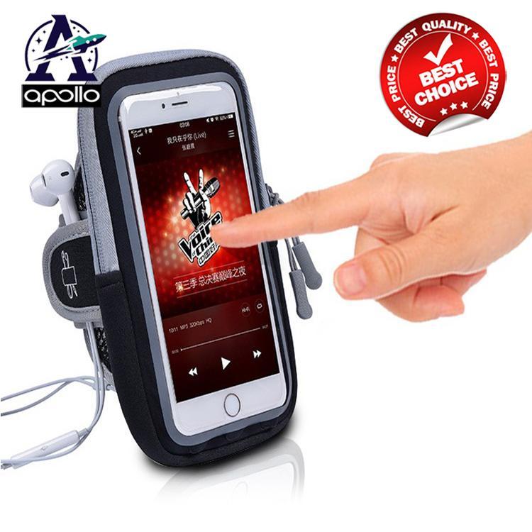 Túi, Bao đựng điện thoại đeo tay - Mặt cảm ứng