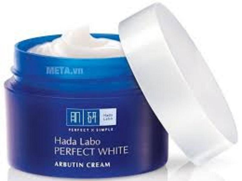 dưỡng trắng tối ưu Hada Labo Perfect White Cream 50g Xanh giá rẻ