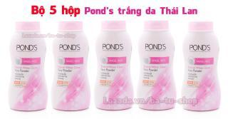 Bộ 5 hộp Phấn POND S trắng da Thái Lan (x 5 hộp) thumbnail