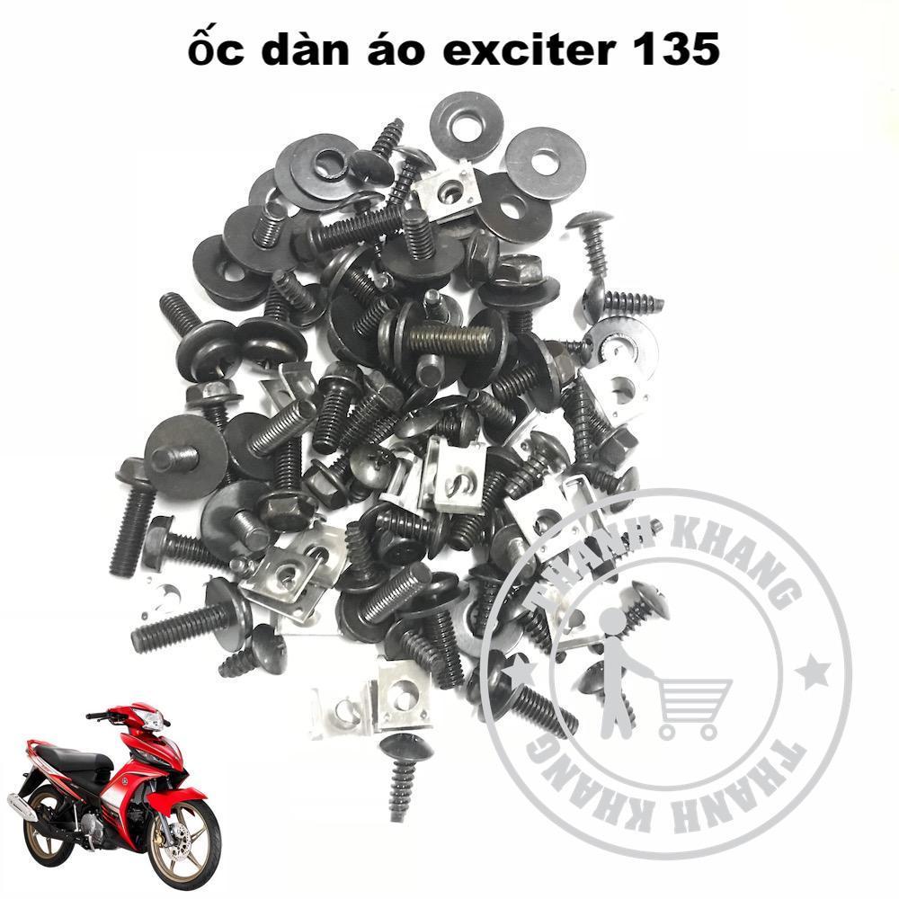Full bộ ốc dàn áo EXCITER 135 Thanh Khang 006001269 Nhật Bản