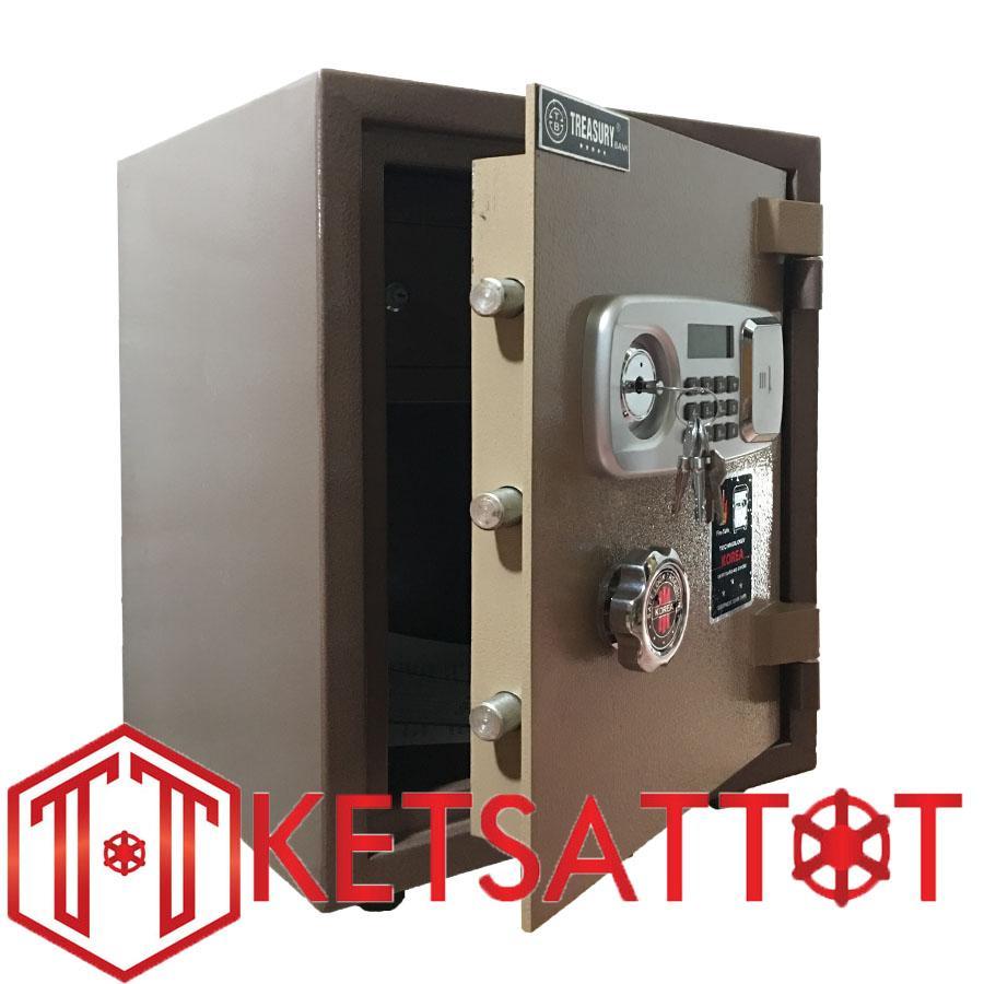 Két sắt chống cháy Treasury bank B400E ( khóa điện tử)