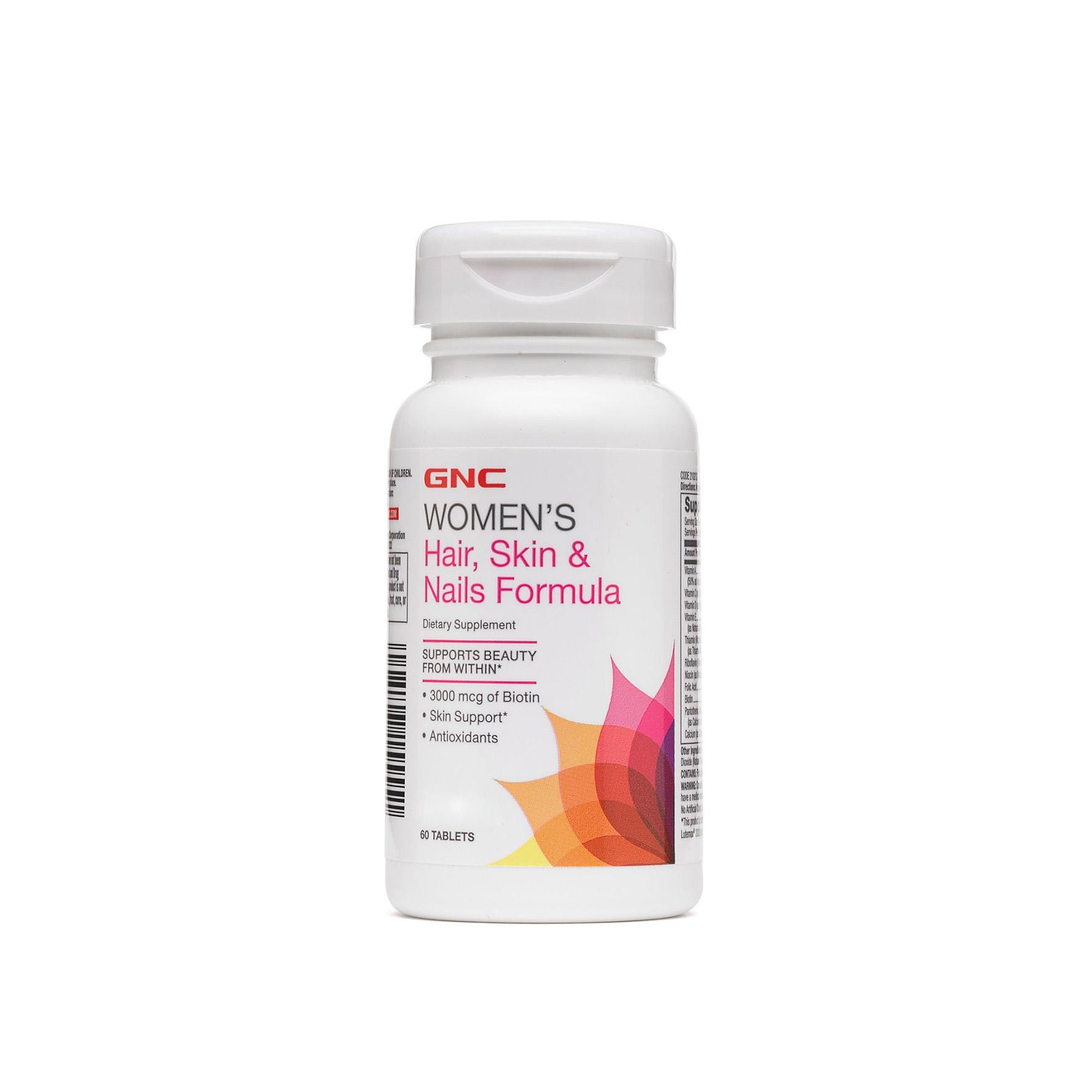 Viên Uống Bổ Sung Vitamin GNC HAIR, SKIN AND NAILS Chai 60 Viên Đang Ưu Đãi Giá