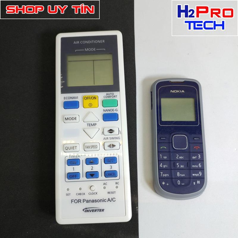 Điều khiển điều hòa Panasonic AC Inverter 2 chiều ( tặng đôi pin )