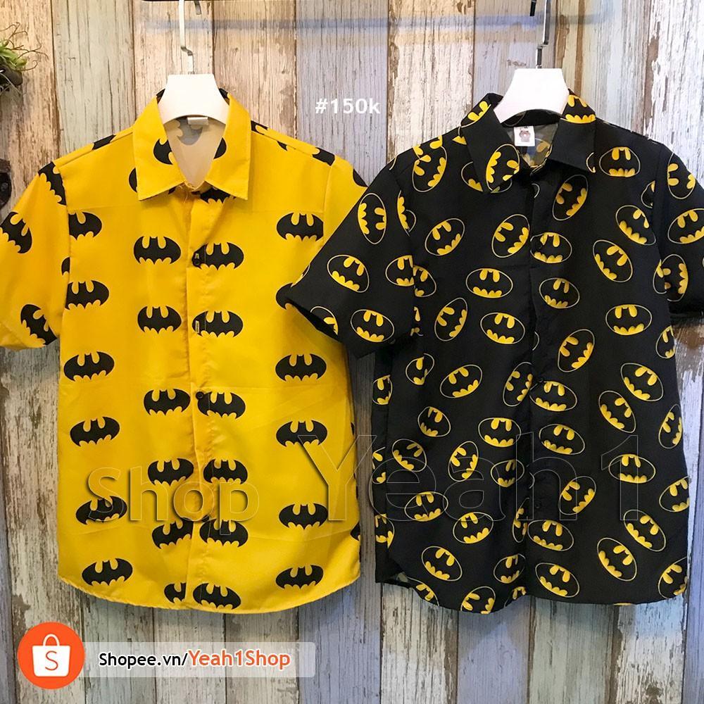 Hình ảnh [Yeah1Shop]- Áo sơmi Batman (M,L,XL)
