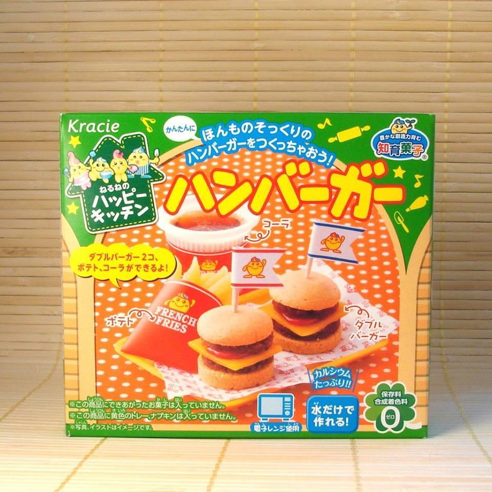 Hình ảnh Popin cookin bộ làm bánh Hamburger - đồ chơi nấu ăn tự làm bánh Nhật Bản