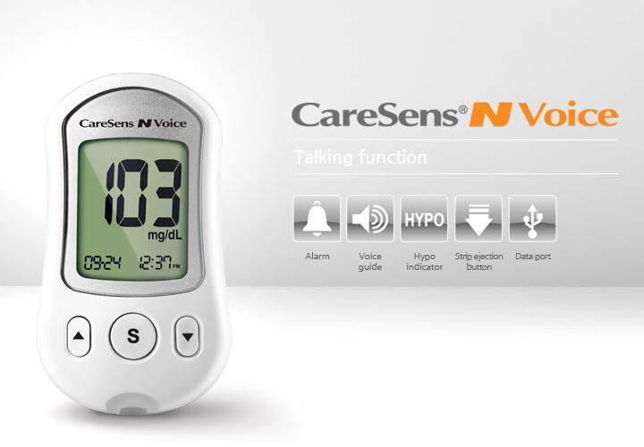 Máy đo đường huyết Casens N voice - Thương hiệu Hàn Quốc bán chạy