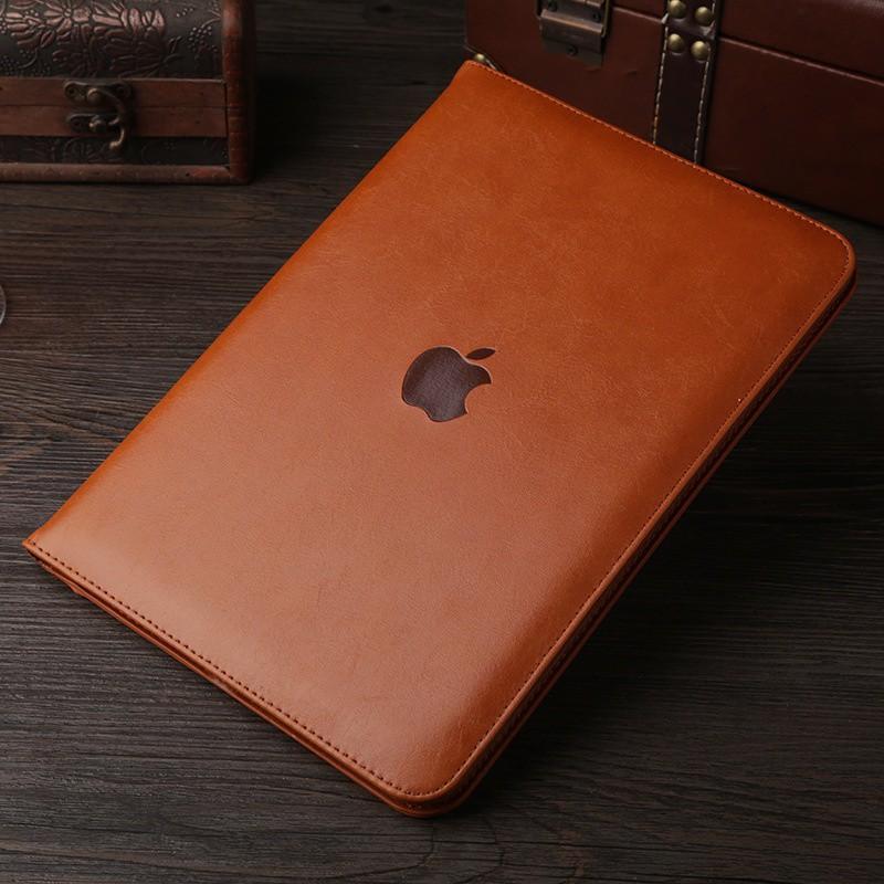 Bao da iPad Air, iPad Air2, iPad 2017, iPad 2018 da bò cao cấp