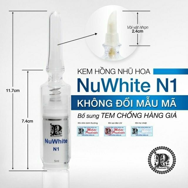 KEM DƯỠNG HỒNG NHŨ NUWHITE N1 HOA KỲ nhập khẩu