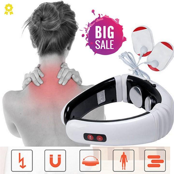 Máy Massage Cổ Vai Gáy Xung Điện Từ Cao Cấp - Bảo Hành Uy Tín Demeter Store