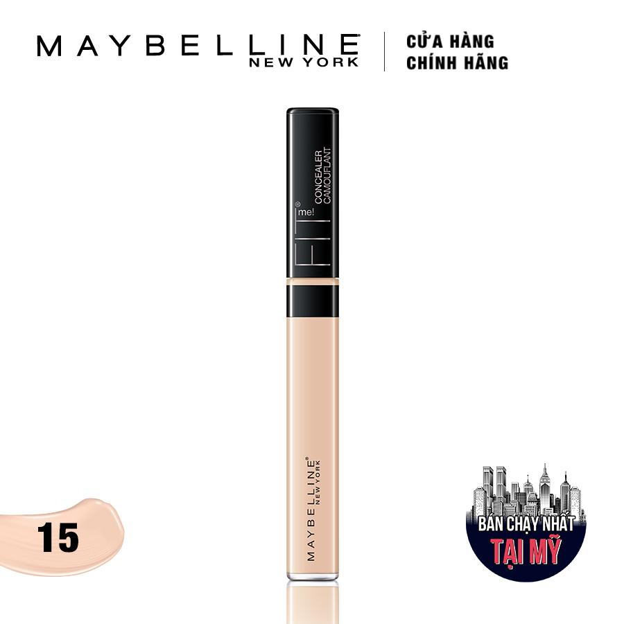 Kem che khuyết điểm đa năng Maybelline New York Fit Me Concealer 15 Fair