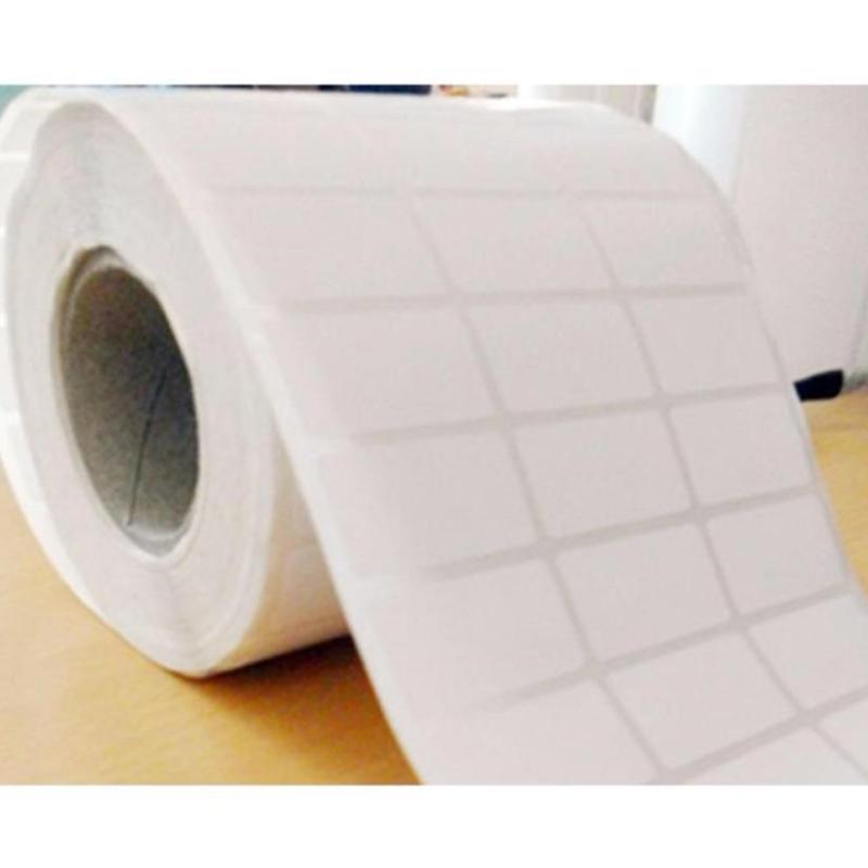 Combo 3 cuộn giấy mã vạch 3 hàng tem khổ 35*22mm (dùng với băng mực - 50m)