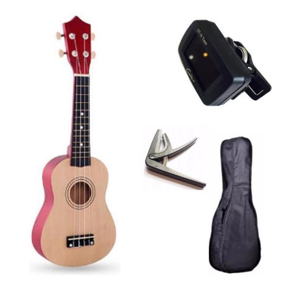 [ƯU ĐÃI LỚN] Đàn ukulele 21inch soprano KBD full phụ kiện tuner 33A11, bao đàn, capo