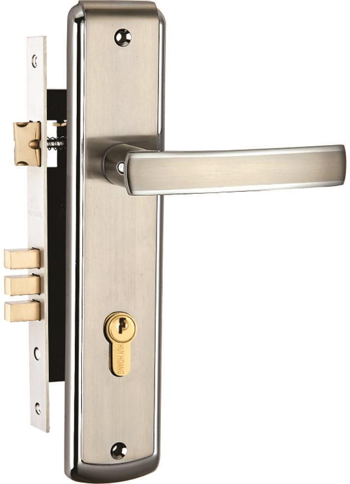 Khóa cửa gỗ bằng hợp kim Huy Hoàng EX 5818