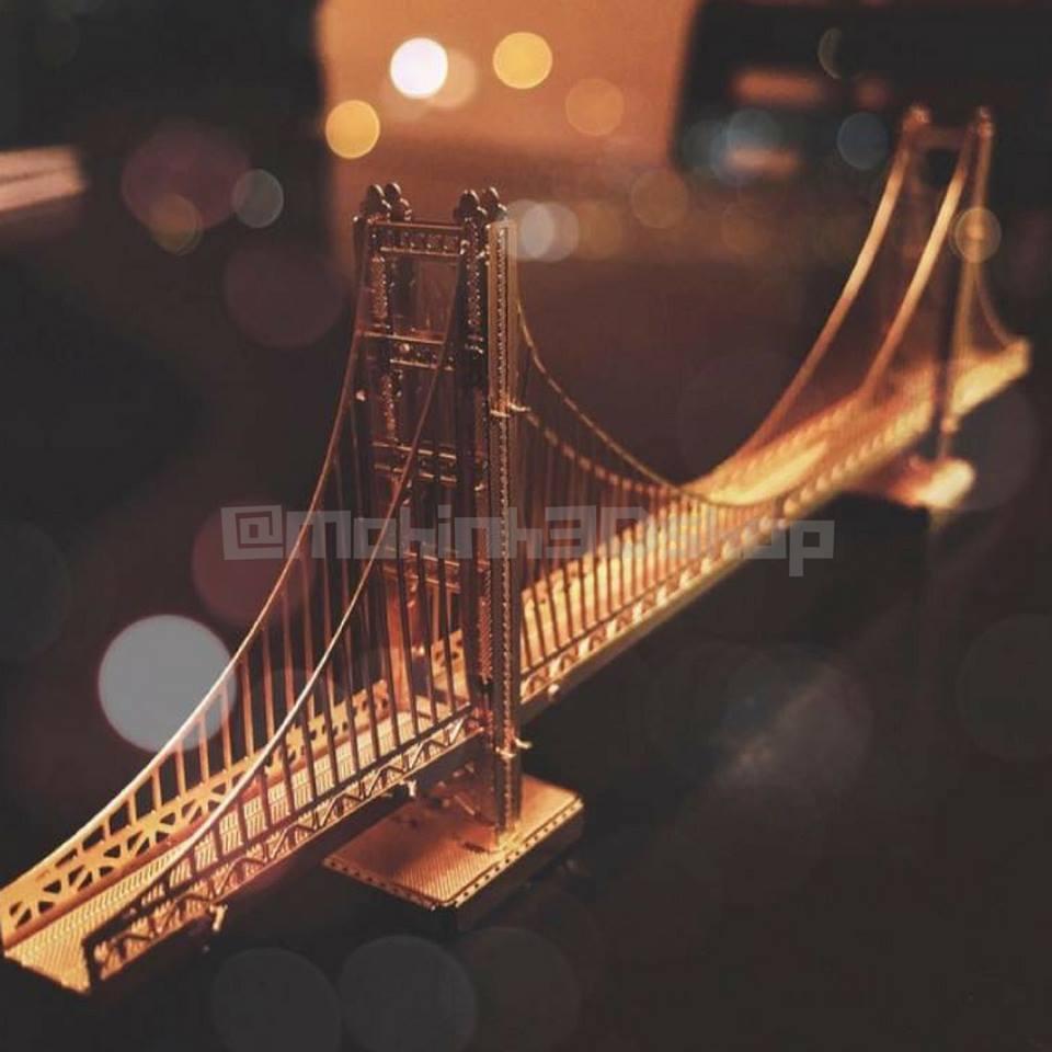 Hình ảnh Cầu George Washington Thép không gỉ