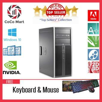Máy tính đồng bộ HP 6300 Pro MT Chạy CPU Core I7 3770, Ram 16GB, SSD 480GB + Bộ Quà Tặng - Hàng Nhập Khẩu