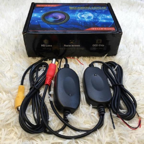 Bộ thu - phát tín hiệu camera lùi không dây trên xe hơi