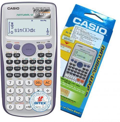 Mua Máy Tính Casio FX570 VN Plus (BH 2 năm)