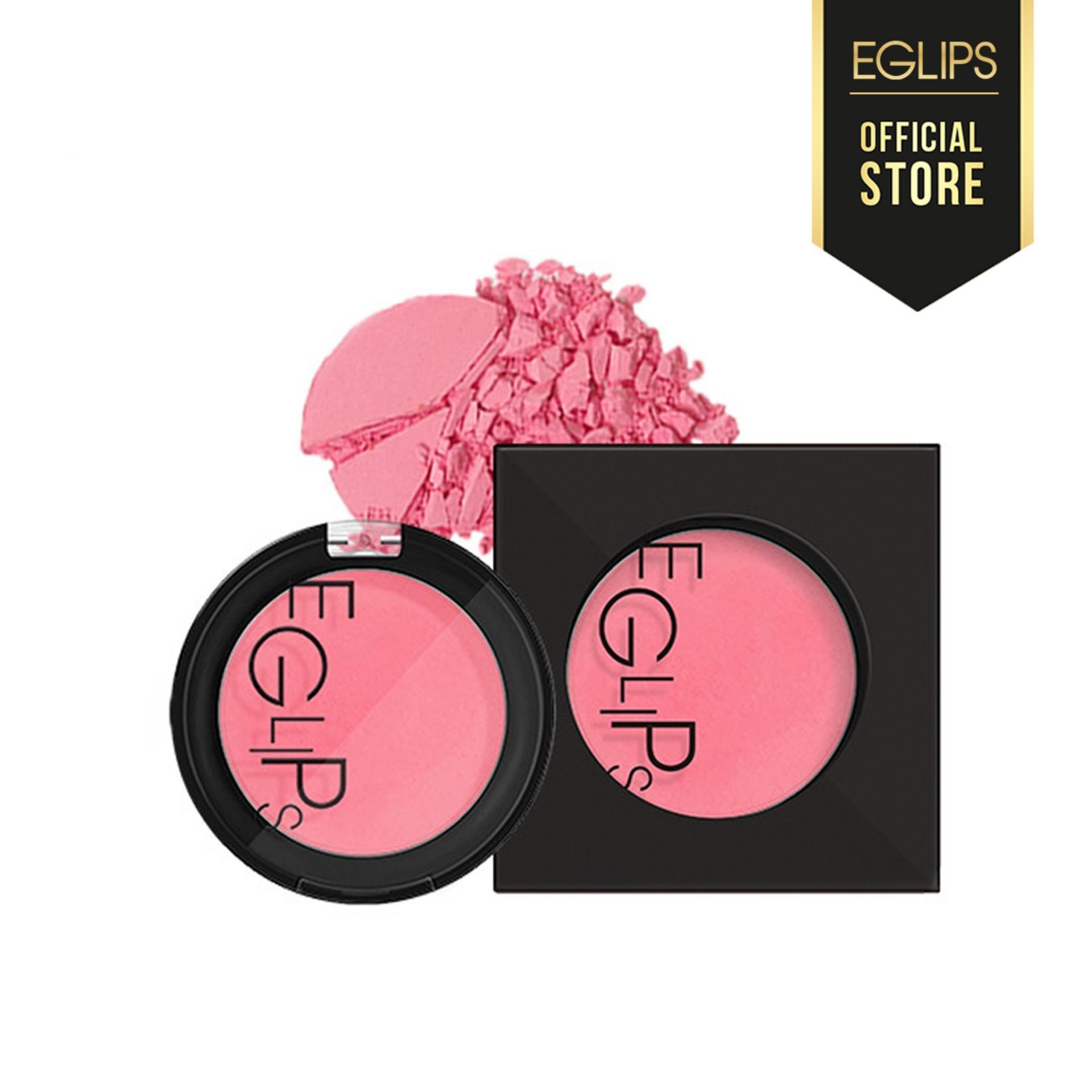 Phấn Má Eglips Apple Fit Blusher - 02 Sexy Rose (Màu hồng baby) tốt nhất