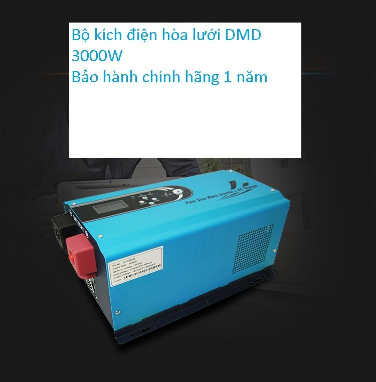 kích điện inveter sin chuẩn 3000w  modelGI-3000VA