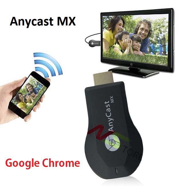 Thiết bị HDMI không dây Anycast MX (M10) Kết nối đa phương tiện - Truyền dữ liệu không dây Tốc độ cực nhanh, hỗ trợ Google Chrome cực chuẩn Giá Khuyến mãi 50%