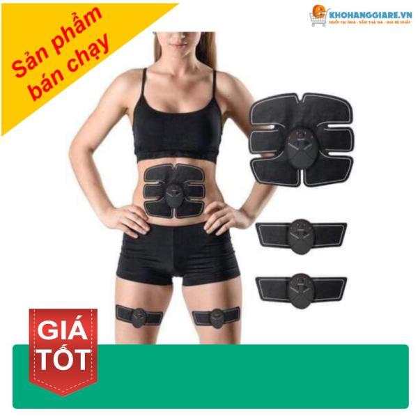 [TẶNG MÃ GIẢM GIÁ 80k]  Combo miếng dán tập cơ bụng,cơ tay tăng cơ săn chắc massage có xung điện