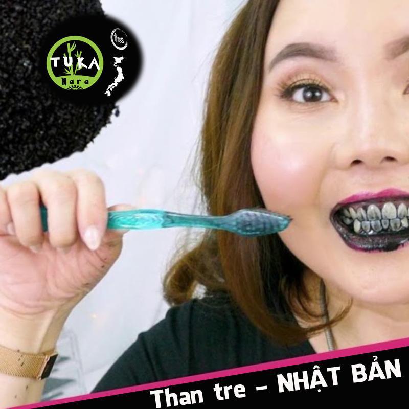 Bột tẩy trắng răng TuKa Nhật Bản than hoạt tính